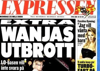 Expressen 25 maj 2009