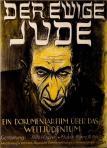 Der ewige Jude - antisemitisk filmaffisch ca 1940