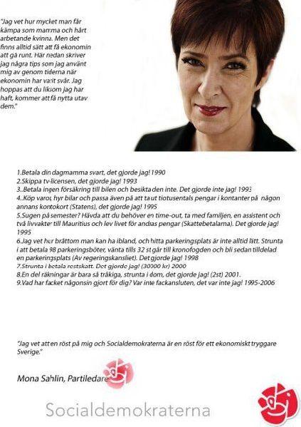 Socialdemokraterna skandaler