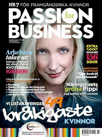 Passion for Business, nr 7 2011