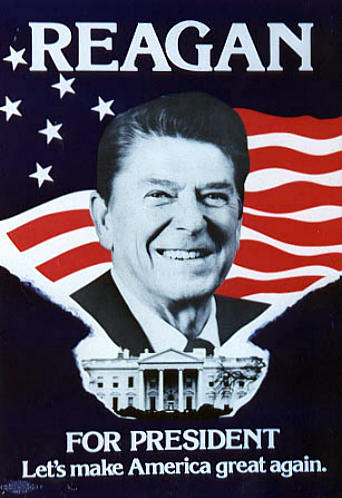 e sim vote ronald reagan on may 5th let s make america great again