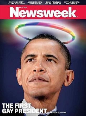 Obama retar homosexuella