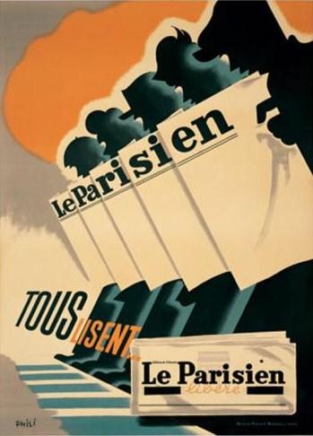 Le Parisien reklam