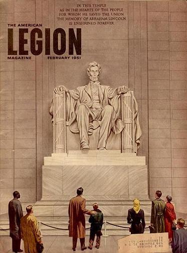 The American Legion Magazine february 1951