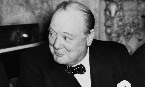 Winston Churchill 1940 (AP)
