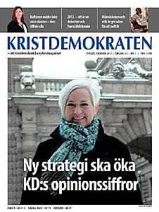 Kristdemokraten nr 1, 2013