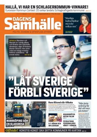 Dagens Samhälle den 21 februari 2013