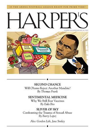 Harper's Magazine januari 2013