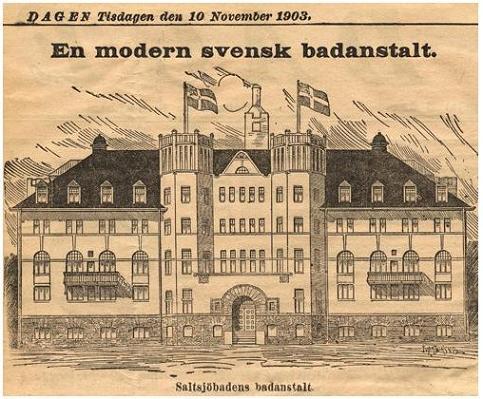 Saltsjöbadet - Dagen den 10 november 1903