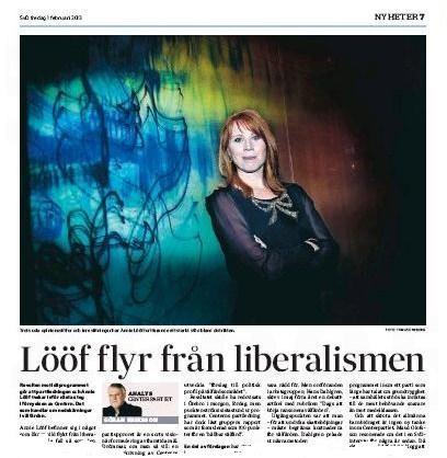 Svenska Dagbladet den 1 februari 2013