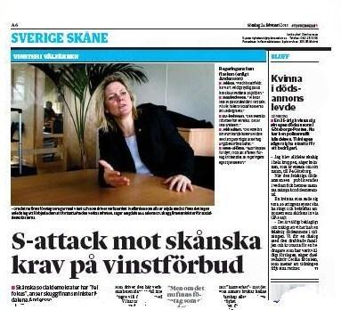 Sydsvenskan den 24 februari 2013