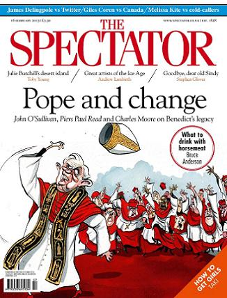 The Spectator 16 februari 2013