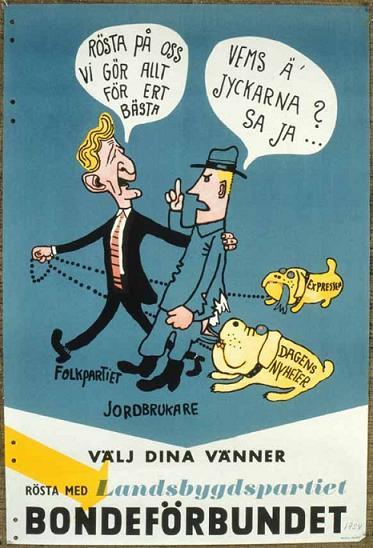 Bondeförbundet valet 1956