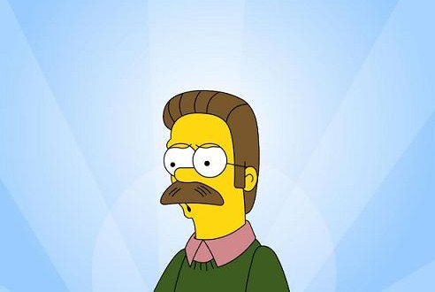 Fox - Ned Flanders in The Simpsons