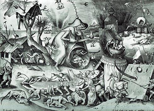 Pieter Bruegel den äldre - De sju dödssynderna