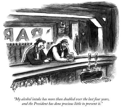 The New Yorker cartoon. .