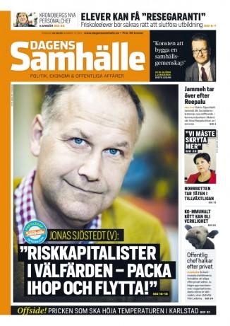 Dagens Samhälle - nr 12 - 28 mars 2013