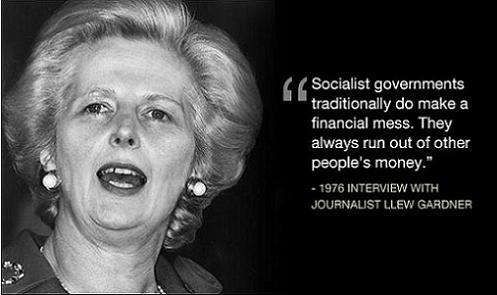 Margaret Thatcher - citat 1976