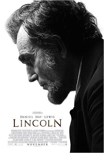 Steven Spielberg Lincoln - poster