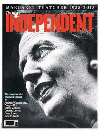 The Independent den 9 april 2013