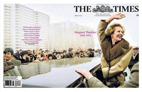 The Times den 9 april 2013