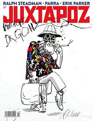Juxtapoz, april 2013