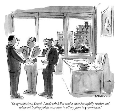 The New Yorker cartoon. ..