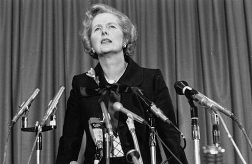 Margaret Thatcher - Getty Images - Graham Wood