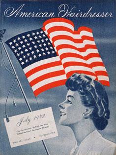 American Hairdresser juli 1942