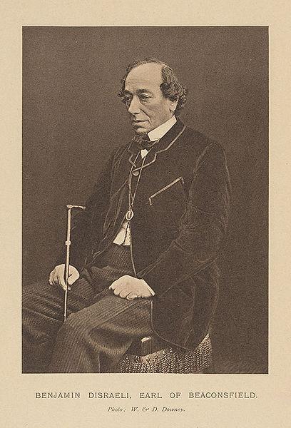 Benjamin Disraeli - Earl of Beaconsfield (1804-1881)