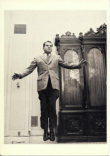 Richard Nixon av Philippe Halsman