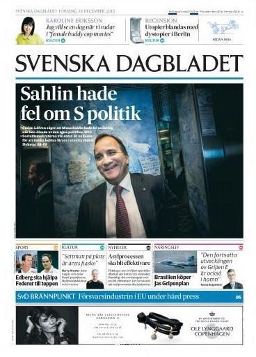 Svenska Dagbladet 19 december 2013
