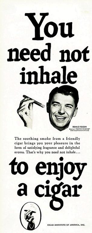Cigar Institute of America, Inc. -- Ronald Reagan