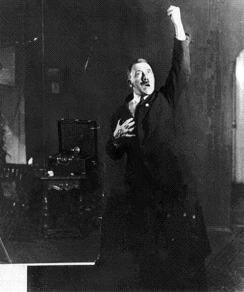Heinrich Hoffman 1927--Adolf Hitler