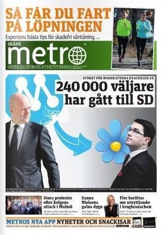 Metro 10 mars 2014