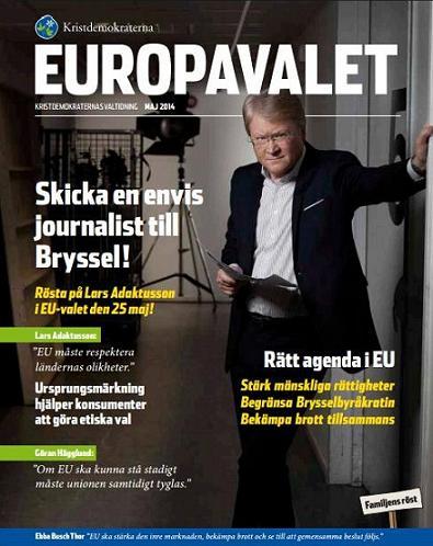 Europavalet - en valtidning från Kristdemokraterna 2014