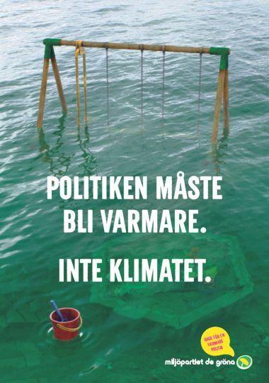 Miljöpartiet EU-valet 2014--Politiken måste bli varmare. Inte klimatet.