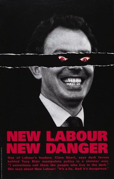 New Labour New Danger Conservative Party 1979