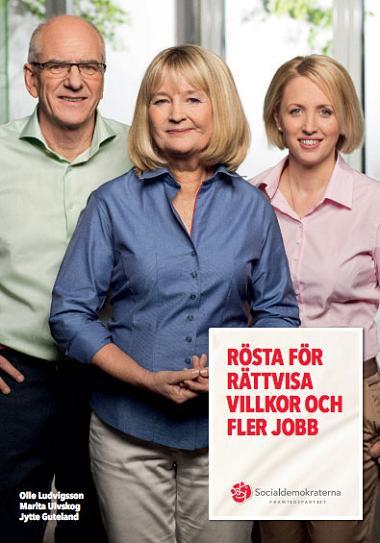Socialdemokraterna valaffisch EU-val 2014