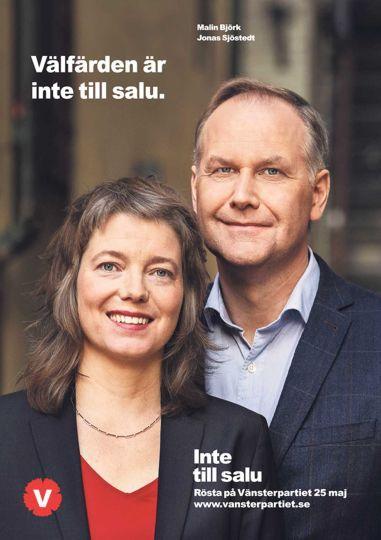 Vänsterpartiet EU-val 2014
