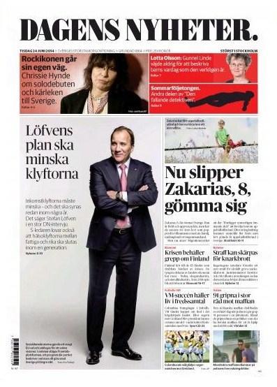 Dagens Nyheter 24 juni 2014