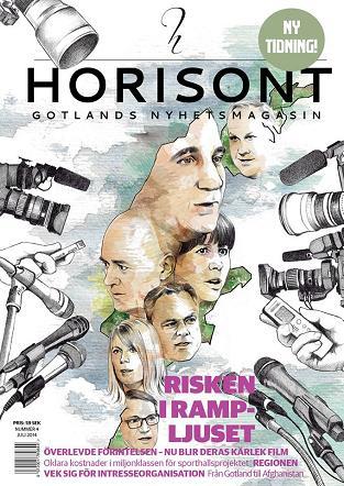 Horisont - Gotlands nyhetsmagasin nr 4 2014