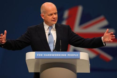 William Hague Manchester Evening News