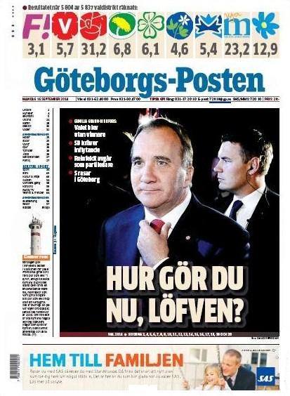 Göteborgs-Posten 15 september 2014