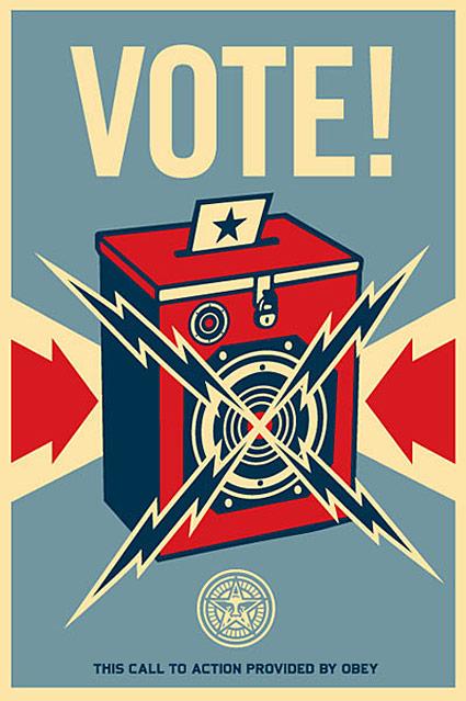 Shepard Fairey Vote