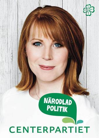 Valaffisch Centerpartiet 2014