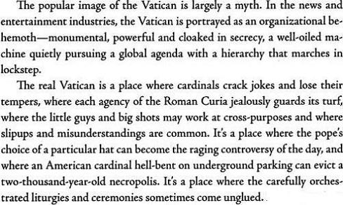 The Vatican Diaries - John Thavis III