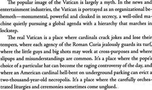 The Vatican Diaries - John Thavis III