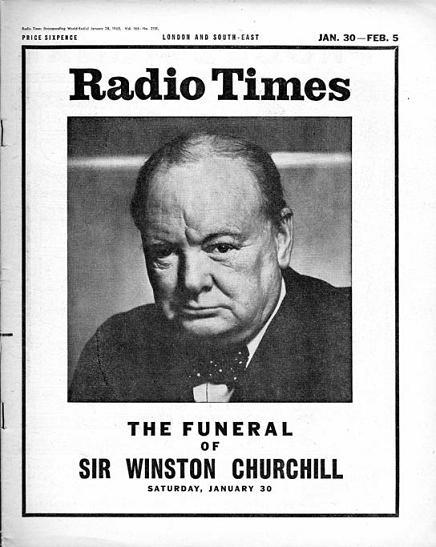 Radio Times 28 januari 1965