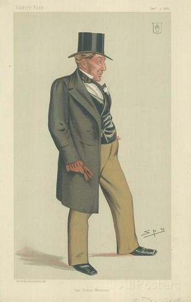 Sir Daniel Gooch by Spy -- Vanity Fair